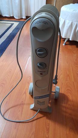 Продам электрический радиатор обогреватель 5 секционные,рабочая в отли