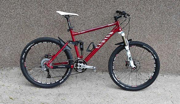 Планински велосипед Canyon Nerve XC F8*Full Fox*