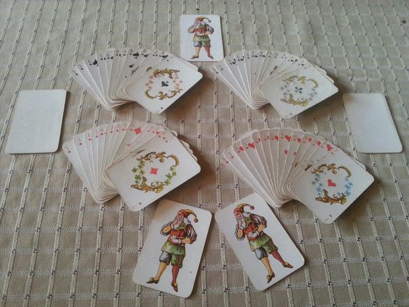 Стари мини карти пълен комплект