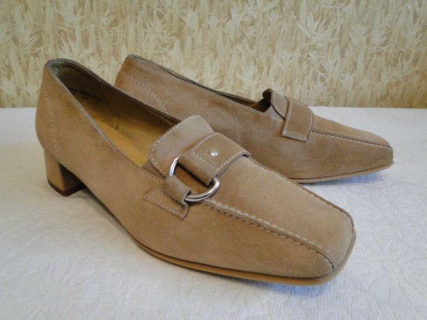 Замшевые туфли немецкой фирмы THERESIA M