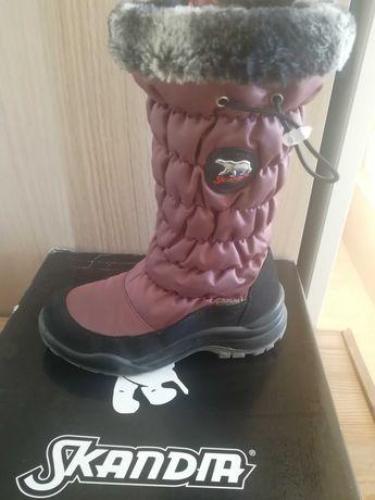 Обувь зимняя для девочки