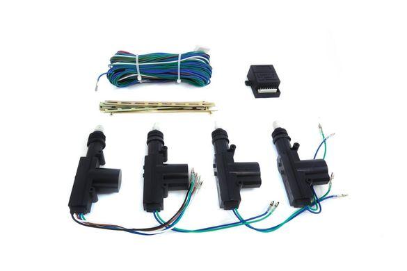 Централно заключване 2M2 Универсалният комплект може да се инсталира