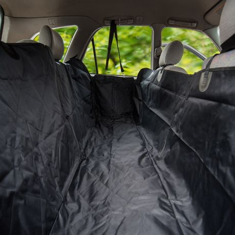 NUNBELL Покривало за задна седалка на автомобил с ципове отстрани