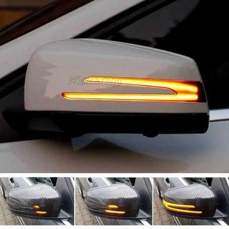 Set 2 semnalizari dinamice pt oglinda Mercedes Benz W204 CLA A B C E S