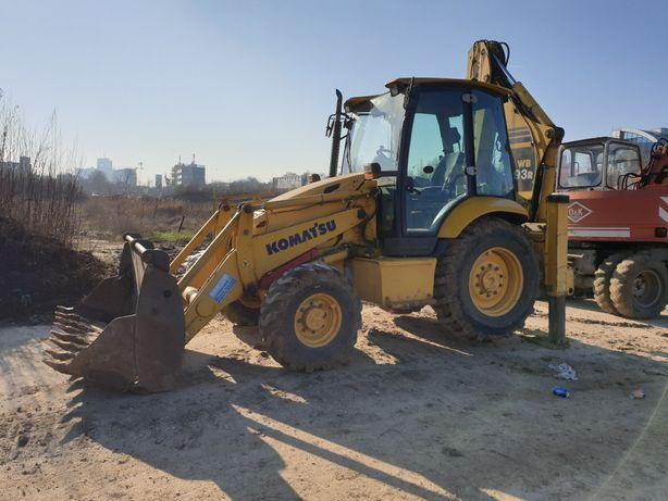 Inchiriez buldoexcavator excavator buldozer bascule 8x4 sau 6x4