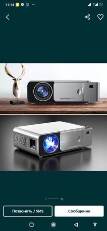 Проектор с высоким качеством, с подключением телефона и wifi 3000 люм