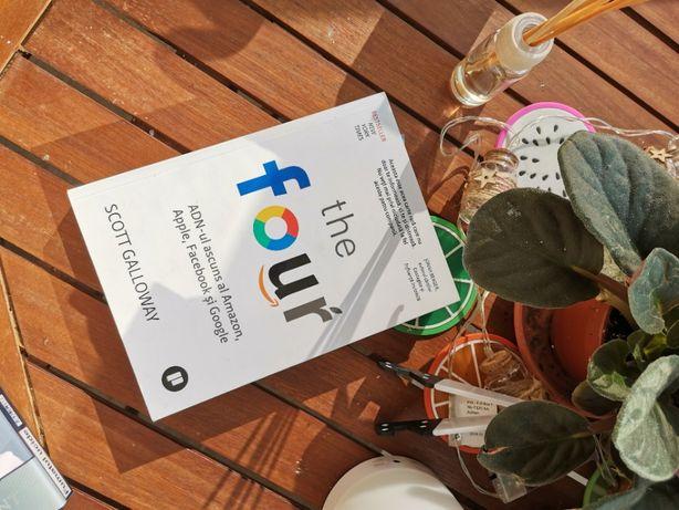 Carte The Four ADN-ul ascuns al Amazon, Apple, Facebook și Google