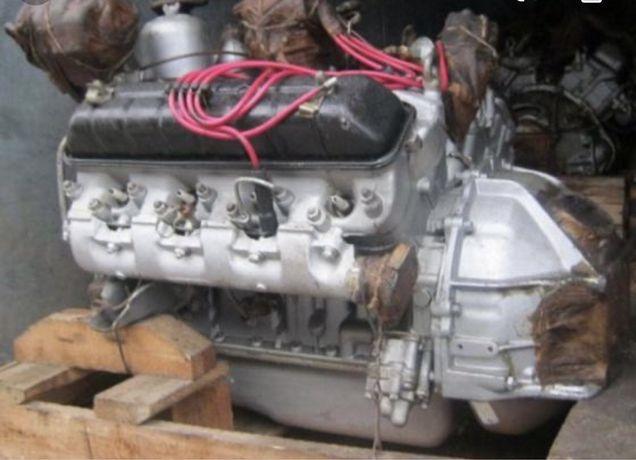 Двигатель газ 53,66