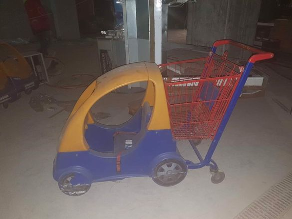 Детска пазарна количка