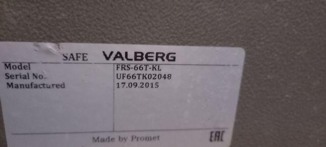 Продам сейфы Valberg