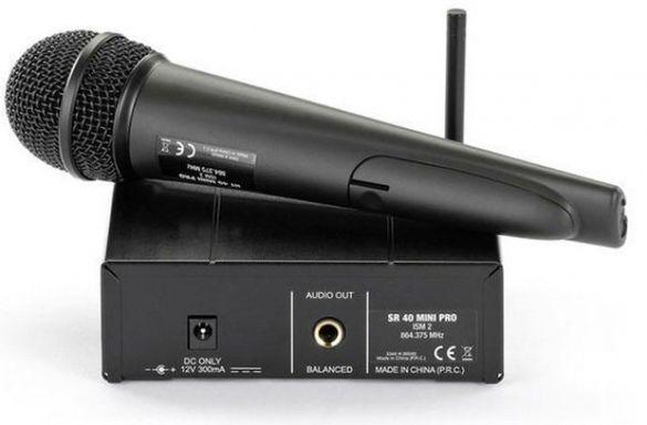 Безжичен микрофон akg wms40 mini vocal