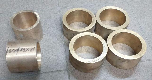 Bucse de bronz 96x79x81 mm si 118x92x60 mm. Trimit in tara prin curier