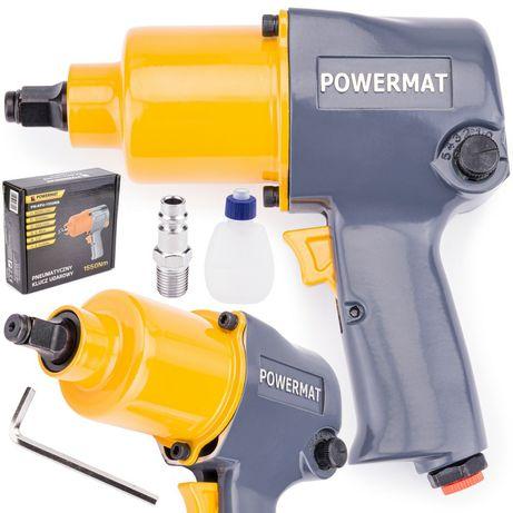 Pistol Impact Pneumatic 1/2 1550Nm TwinHammerPowermat TranspGratuit