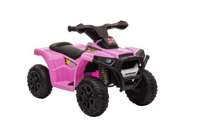 Mini ATV electric pentru copii BJ116 35W STANDARD #Roz