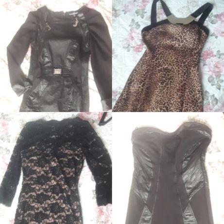Официални рокли,къса кожена пола и дамски панталон(клин)