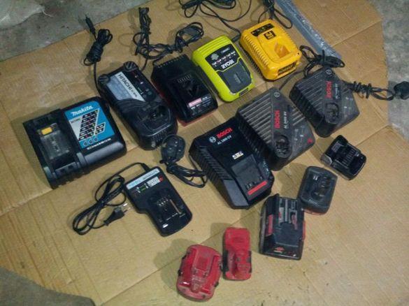 зарядни и батерии за акумулаторни инстроменти
