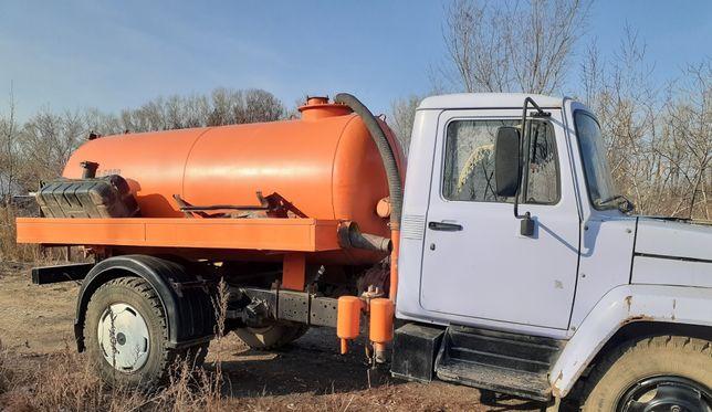 Продам ассенизатор  газ 53