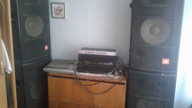 Продам комплект музыкальной акустической аппаратуры