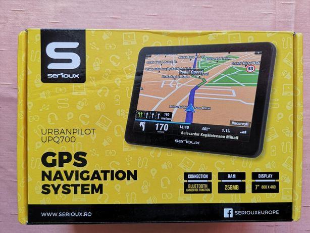 Nou Garantie 3ani GPS Serioux UPQ700 Europa 2020 Autoturism Camion TIR