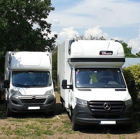Transport marfa, mobila, mutari Germania - Romania - Germania
