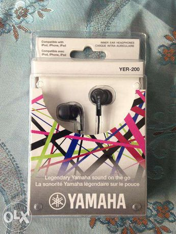 Casti in ear Yamaha YER-200 black, noi, sigilate, la cel mai bun pret