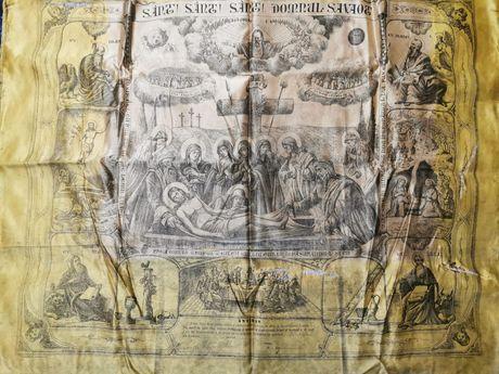 Pictura ulei pe panza semnata de Iosif Mitropolit Primat