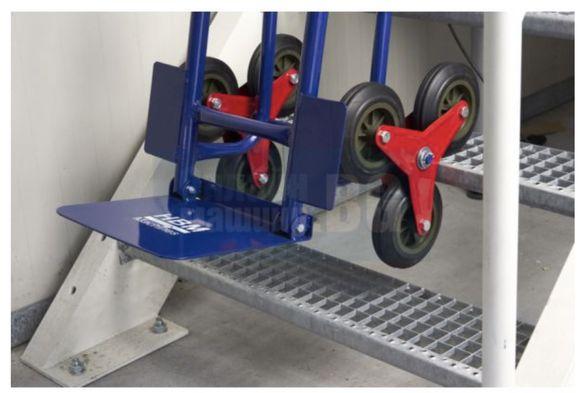 Транспортна количка за стълби под наем