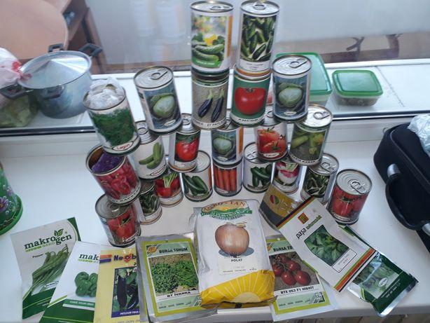 Семена овощей и зелени
