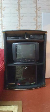Подставка с телевизором LG