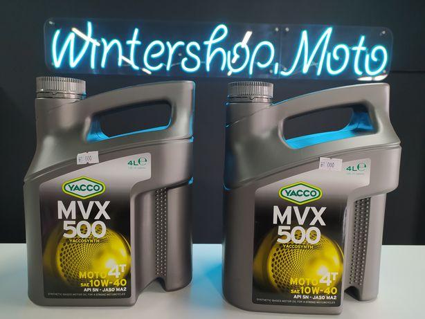 YACCO MVX 500. Полусинтетическое Масло для Мототехники!4-Тактное-10W40