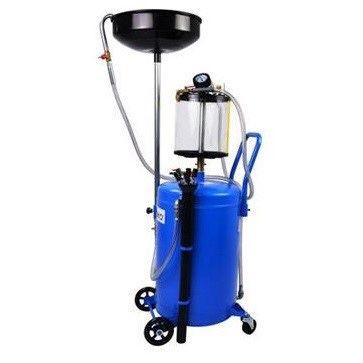 Масларка - Пневматична помпа за засмукване на масло синя отработени