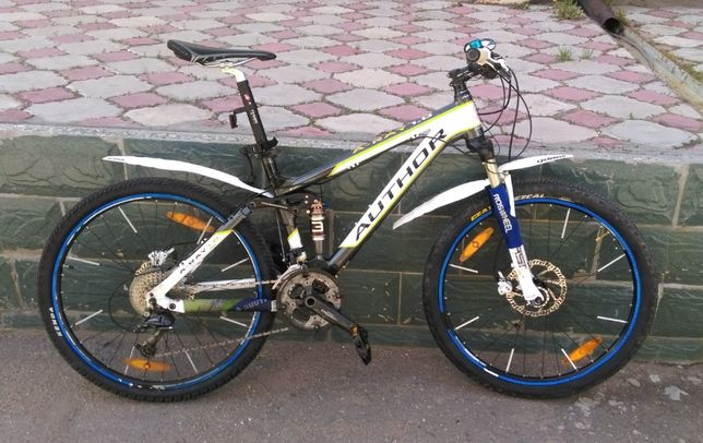 Продам велосипед двухподвес AUTHOR A-Ray 1.0