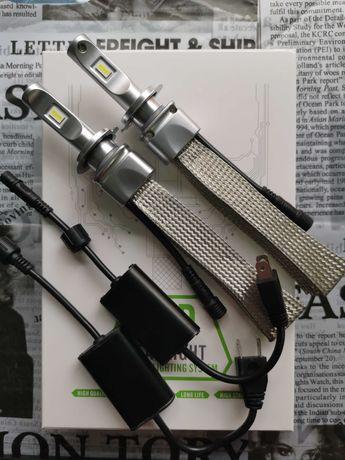 Висок клас LED-крушки Н1  Н3 H4  H11  HB3  HB4 - 98 лв.,