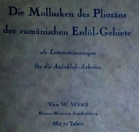 carte veche Romania f.rara 1942 arheologie paleontologie istorie