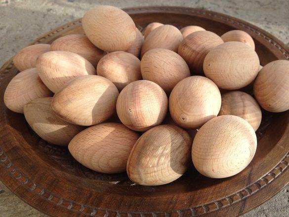 Дървени яйца от производител!
