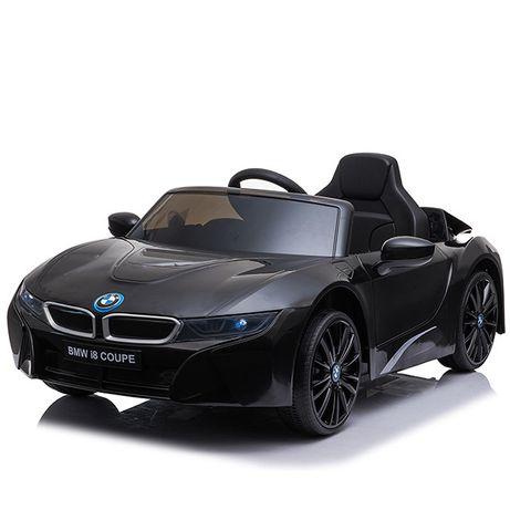Masinuta electrica pentru copii BMW i8 12V Coupe STANDARD #Negru