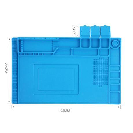 Силиконова масичка за финна електроника