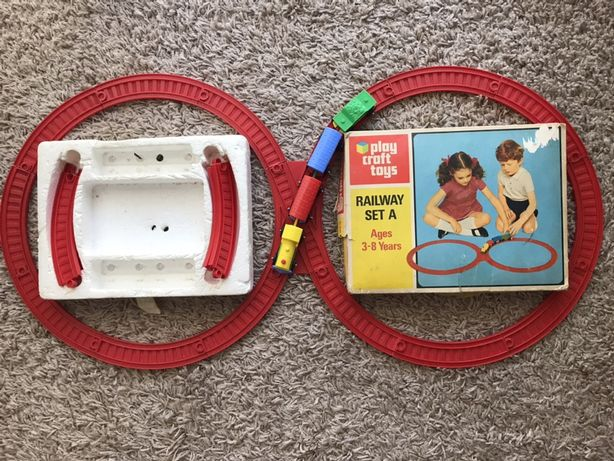 Trenulet vechi Play Craft Toys colectie 1970