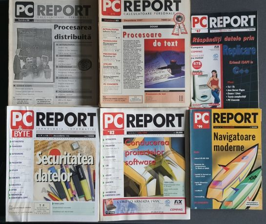 Revista PC Report 1996 - 2000