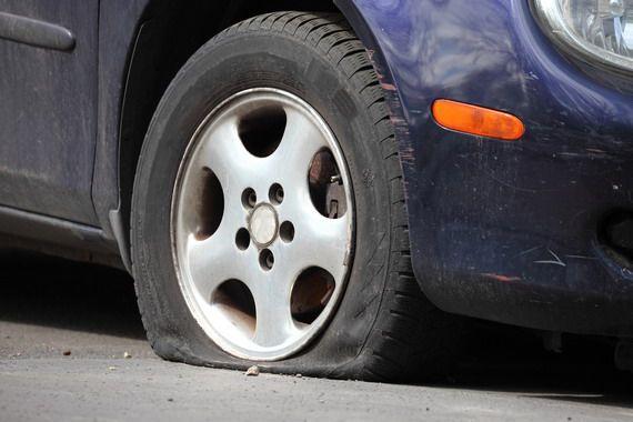In trafic, in parcare sau acasa - vulcanizare mobila