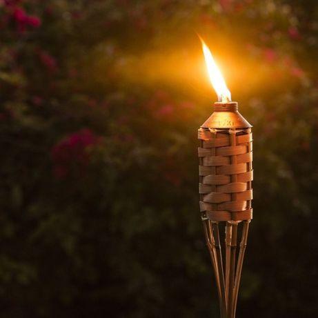 Факел из бамбука метровый