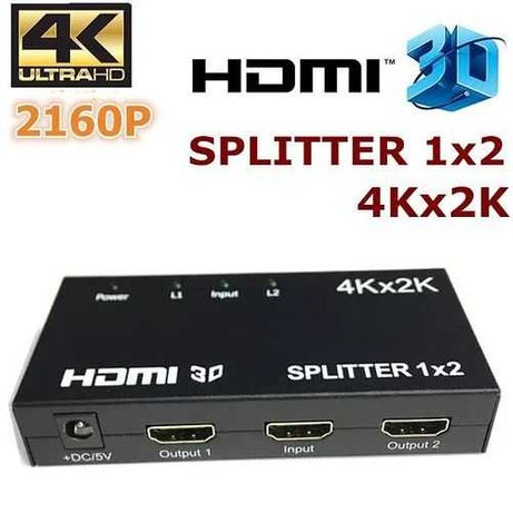 HDMI 1X2 сплиттер 4Kx2K