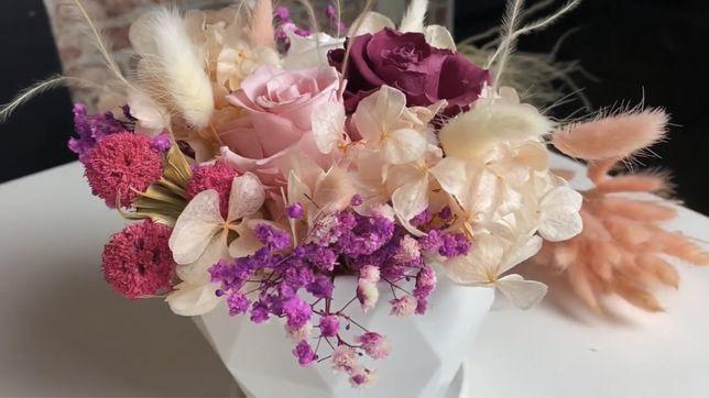 Стабилизированные Цветы/Цветы ко дню учителя