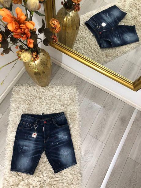 bermude pantalon scurt blugi Dsquared2 colecția noua TOP