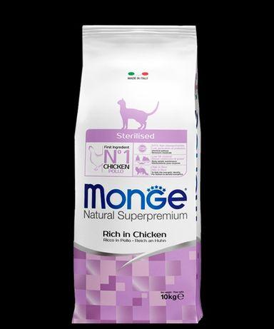 Сухой корм Monge  для стерилизованных кошек
