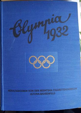 Raritate! Album foto Olympia 1932, perioada nazista, volum original