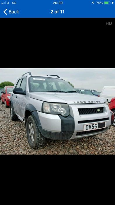 Dezmembrez land rover freelander 2005 Pericei - imagine 1