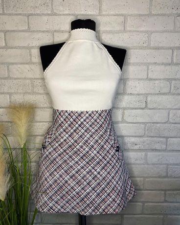 Fusta mini Zara cu imprimeu