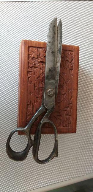 Foarfeca metal piele veche Wermacht germana