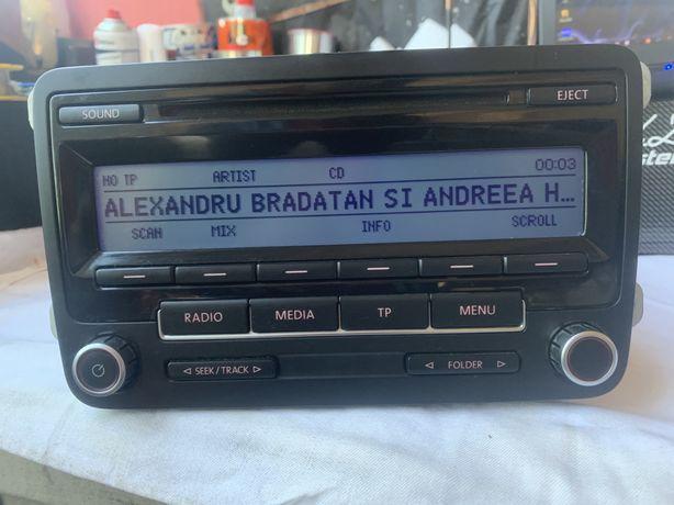 RCD 310 MP3/Aux, Bluetouth Blaupunkt, Golf V, Jetta, Passat B6